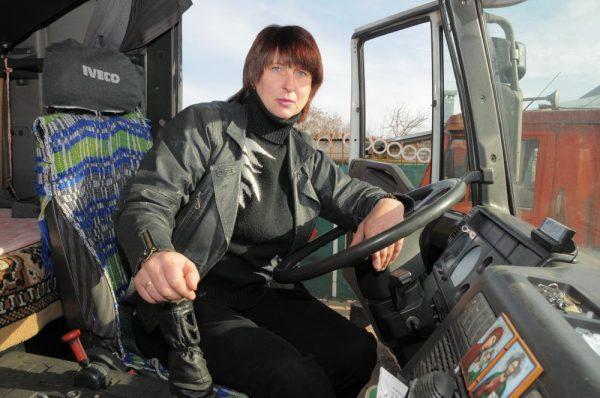 Дальнобойщица Елена Ткач