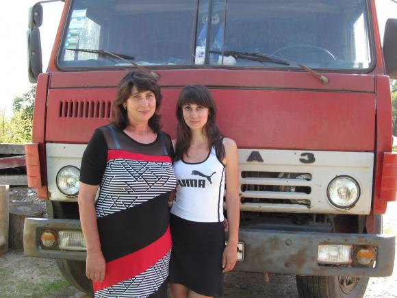 Елена Ткач с дочерью