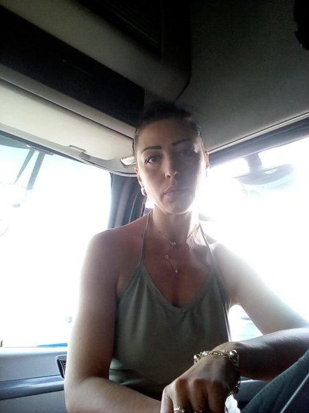Дальнобойщица Оксана Бутраменко фото