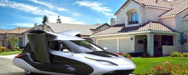 Terrafugia  летающий автомобиль