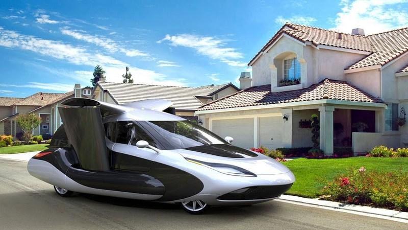 В Китае построят завод по производству летающих автомобилей