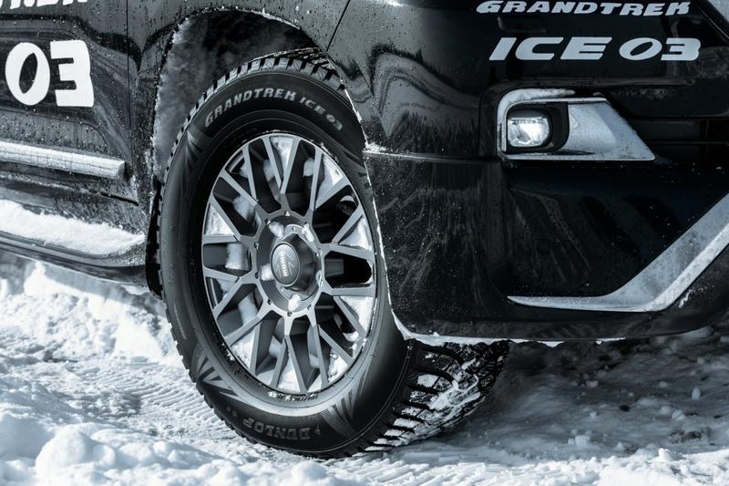 Новые зимние шиныDunlop SP Winter Ice 03 прошли тест успешно