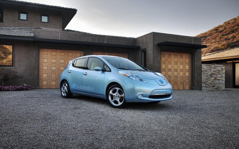 90% владельцев советуют его своим друзьям: Nissan Leaf — фотобзор