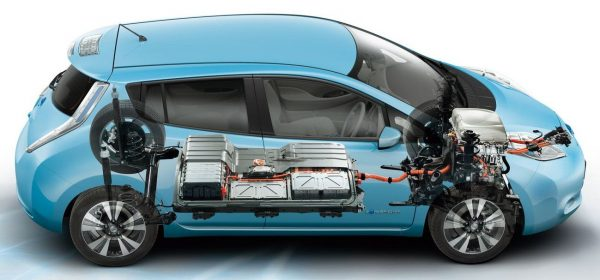 Nissan Leaf ходовая часть