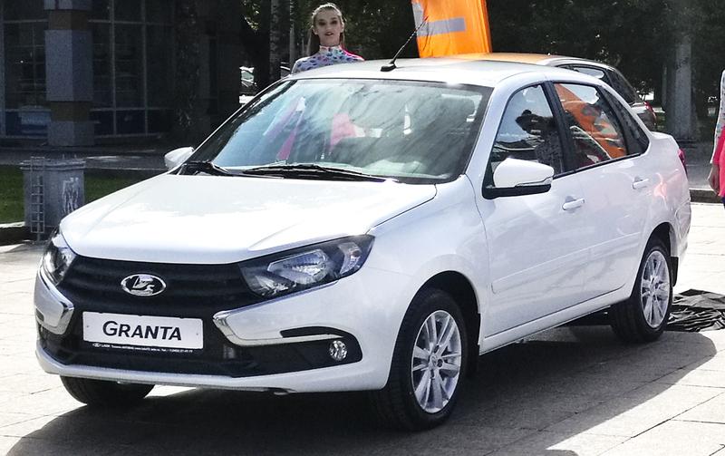 3,99 тысяч автомобилейLada Granta отозвано для устранения неполадок