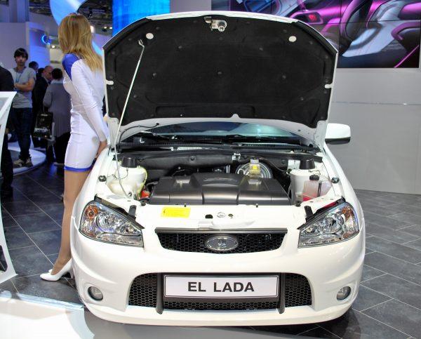 Концепт Lada El Lada на выставке