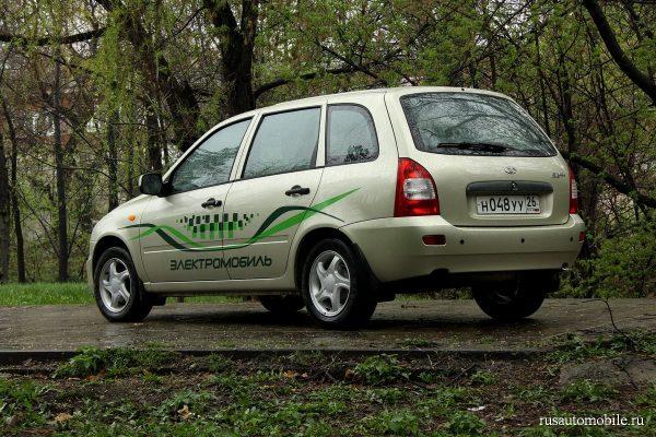 Електромобиль АвтоВаз — Lada El Lada