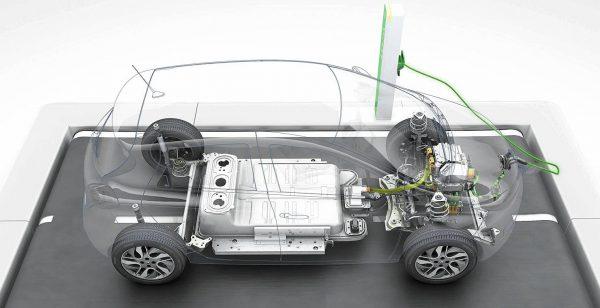 Схема электромобиля Renault Zoe