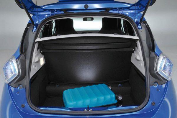 Багажное пространство Renault Zoe