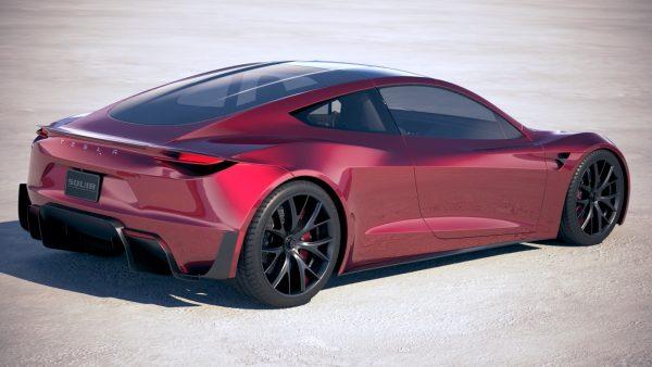 Концепт Tesla Roadster