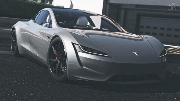 Tesla Roadster — графический концепт