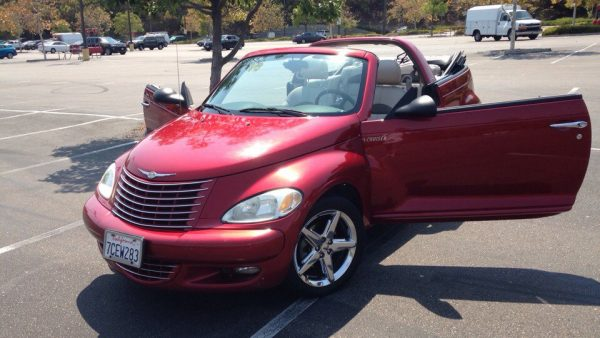 Кабриолет Chrysler PT Cruiser