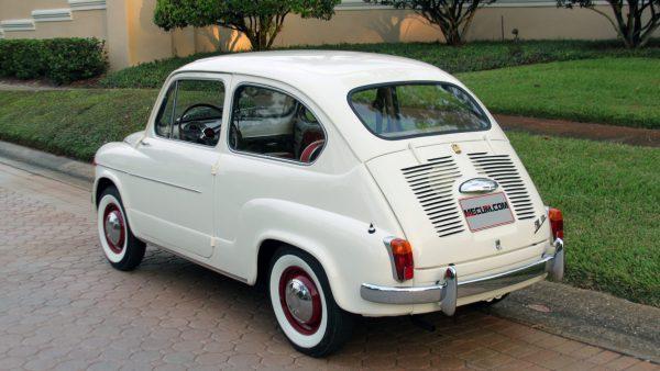 Fiat 600 — прообраз ЗАЗ-695