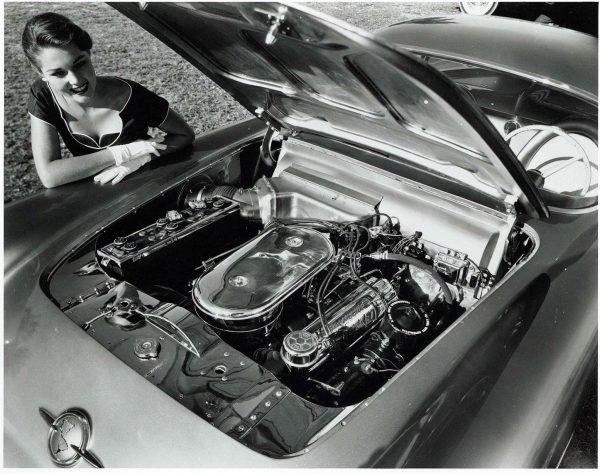 Двигатель Oldsmobile F-88 1954