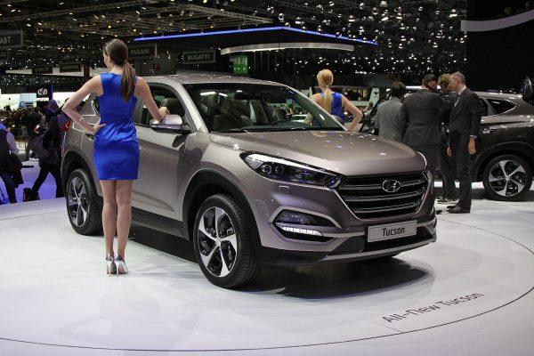Hyundai Tucson на выставке