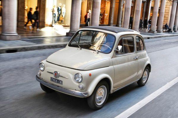 Первый Fiat 500