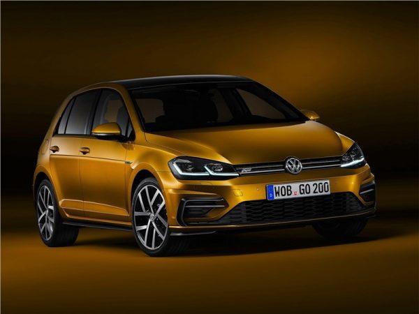 Volkswagen Golf 8 рестайлинг