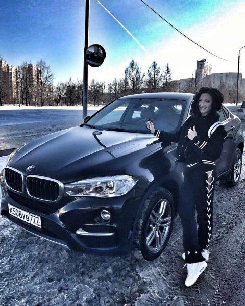 BMW X6 Ольги Бузовой