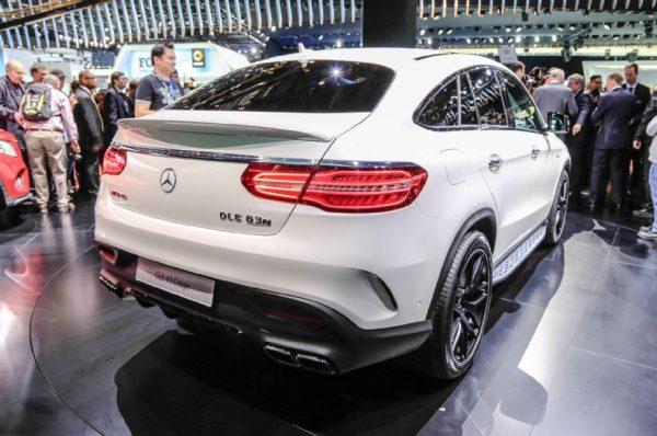 Mercedes-Benz GLE 63 Coupe AMG на презентации