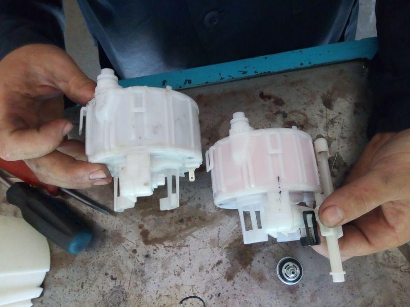 Инструкция по замене топливного фильтра на Hyundai Solaris есть видео