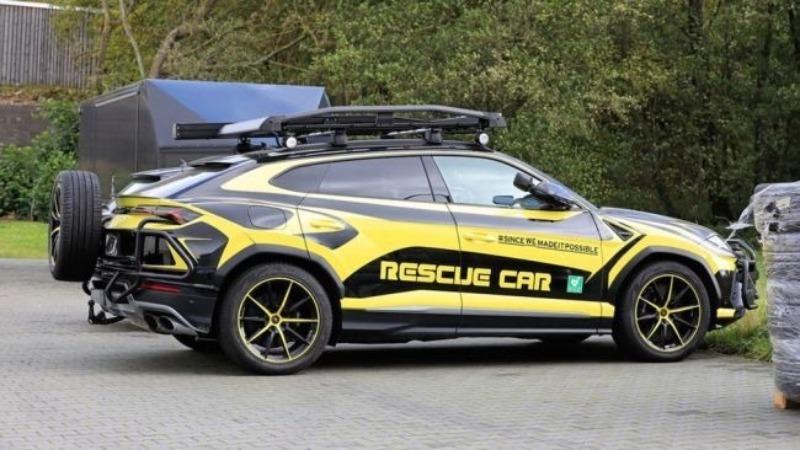 Чем Lamborghini Urus для спасателей отличается от обычного, и зачем он нужен