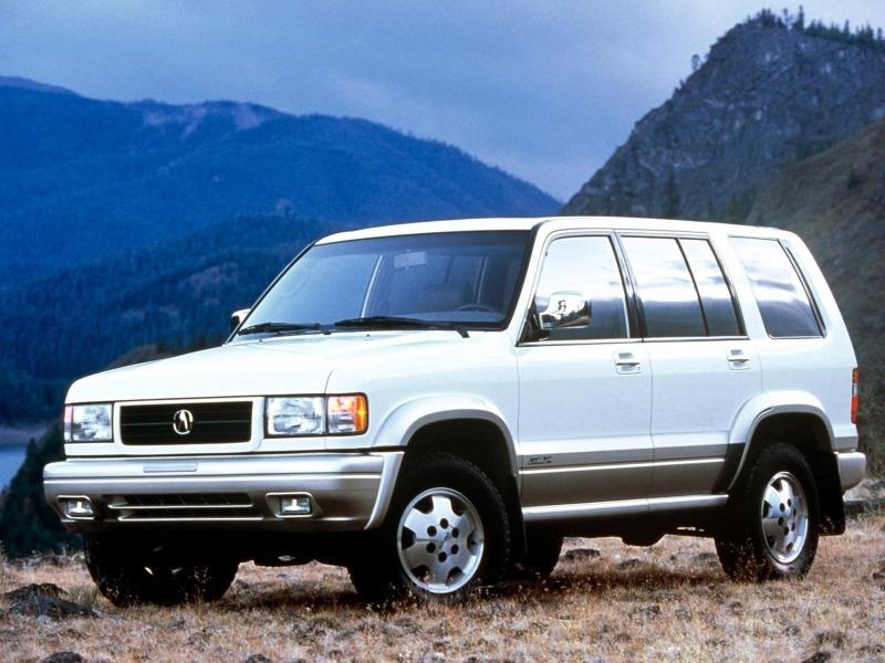 Что изменилось в самом брутальном внедорожнике Acura за 22 года: реинкарнация модели SLX