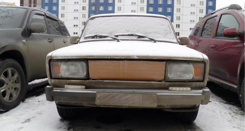 В старые машины перед радиатором ставили картонку – зачем так делали и нужно ли подобное в современных авто