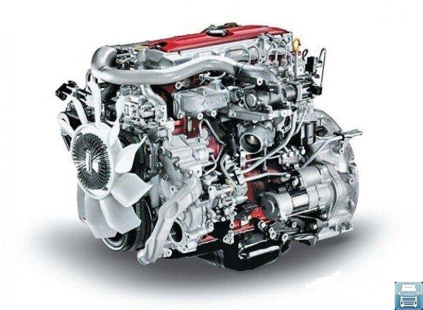 Двигатель грузового автомобиля Hino 300