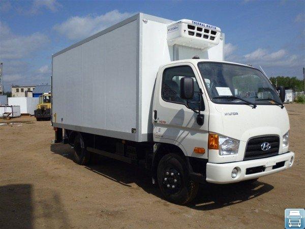 Грузовик  Hyundai HD 78 с изотермическим фургоном