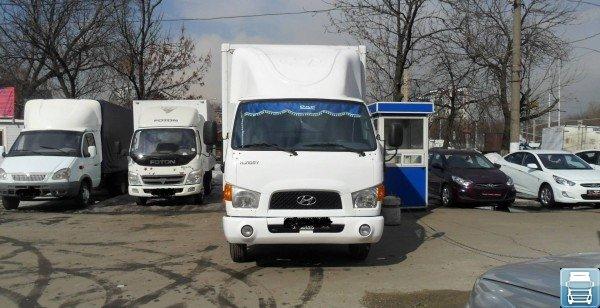 Передняя часть кабины автомобиля Hyundai HD 78
