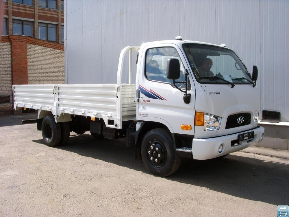Особенности корейского грузовика Hyundai HD 78